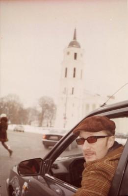 A hobbyist taxi driver in Vilnius: call +37065071987. Photographed by Dalia Dūdėnaitė